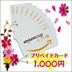 【アマゾン限定ギフト券1000】すぐに使えて便利!ギフト券(カードタイプ)プラン♪無料朝食付♪