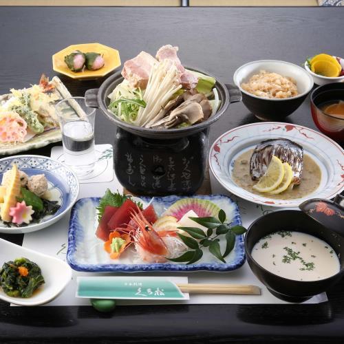 〈GoTo適応〉【2食付き】本格日本料理と上州麦豚を味わうおすすめコース 画像