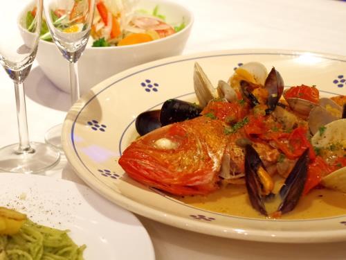 【イタリアン 2食付】★金目鯛のアクアパッツァ★一番人気 春の房総イタリアンプラン 画像