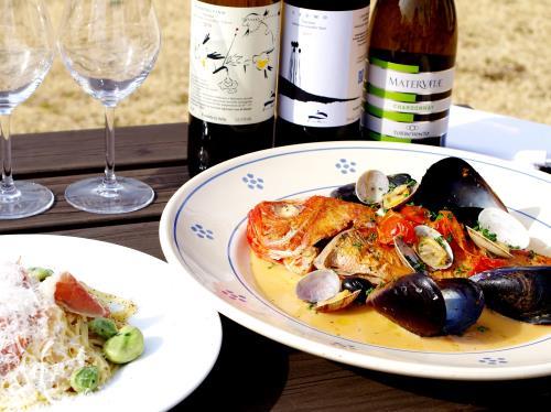 【2食付】★金目鯛のアクアパッツァ★一番人気 春の房総イタリアンディナープラン 画像