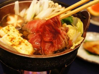 【ご当地牛を堪能♪】佐渡牛すき焼きプラン(2食付)  画像