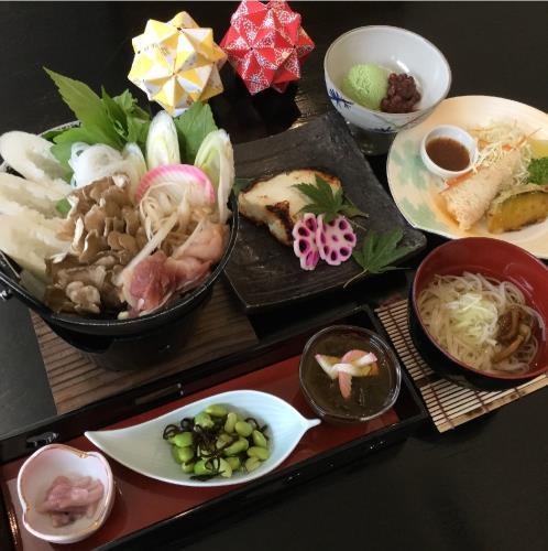 秋田の味「きりたんぽ鍋」を楽しむ★夕食付プラン 画像