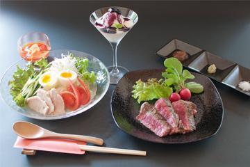 【岩手いいものセレクト】夏のスタミナ県産牛ステーキと涼を味わう岩手名物盛岡冷麺 画像