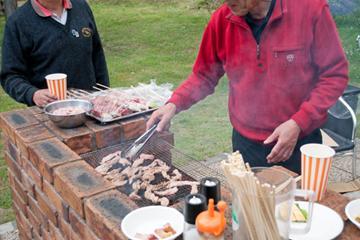 【岩手の夏を楽しむ】県産牛カルビと新鮮野菜のバーベキュー&特製パエリア・プラン 画像