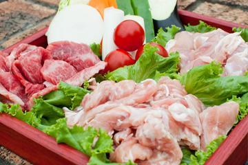 【秋を楽しむ】県産牛カルビと新鮮野菜のバーベキュー&特製いも煮プラン 画像