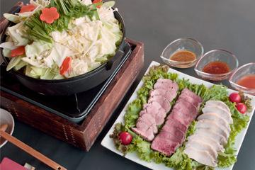 【岩手いいものセレクト】★アツアツもつ鍋&三大県産肉の味くらべ★2食付きプラン 画像