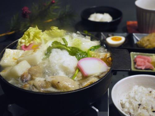 【新春】たっぷりの大根おろしとお餅入りの一人みぞれ鍋付き1泊2食プラン 画像