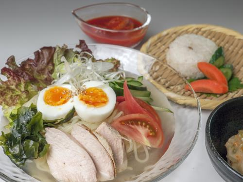 【夏限定】岩手と言えばこれ!特製冷麺セットが付いた1泊2食付きプラン 画像