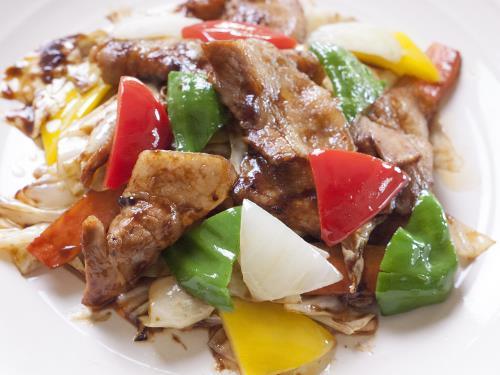 《白金豚とキャベツの甘味噌炒めセット》1泊2食付きプラン 画像