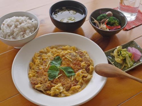 【新登場】《ふわふわ卵とじのかつ煮定食》1泊2食付きプラン 画像