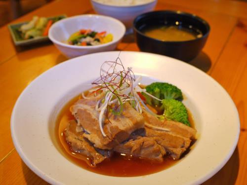 お肉好き必見!柔らか豚角煮セット1泊2食付きプラン 画像