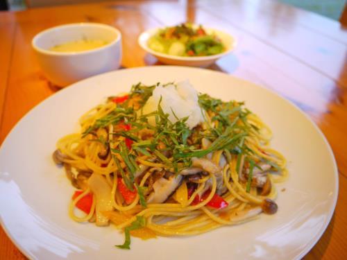 【新登場】ポン酢でさっぱり♪和風きのこスパゲッティーセット1泊2食付プラン 画像