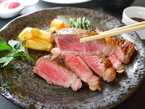 【岩手県産牛を2種類のソースで味わう】県産牛サーロインステーキセットプラン 画像