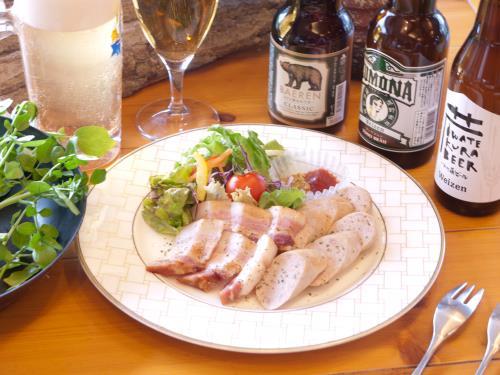 【岩手の酒を楽しむ】 県産クラフトビールと白金豚ソーセージ・ベーコンセット 画像