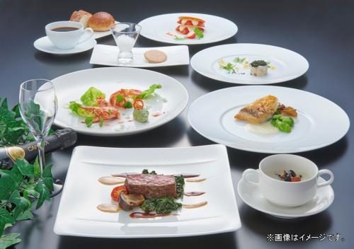 【Gotoトラベル割引対象プラン】2食付プラン☆シェフのおすすめ夕食コース&選べる朝食付☆