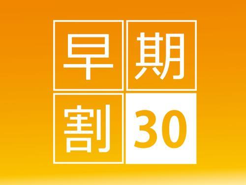 【公式サイト限定×早割30】12時チェックイン可能!30日前までの早期割引プラン(食事なし) 画像