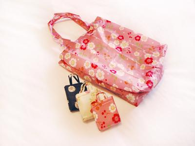 <kyoto girl trip> ☆Gentle sum pattern stylish eco-bag ☆ Image