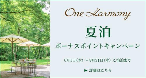 【One Harmony会員限定タイムセール】期間限定のビッグセール!新規ご入会も大歓迎♪ 素泊り