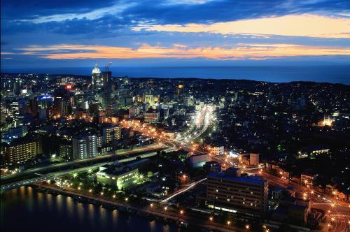 <眺望確約プラン> 日本海・信濃川をのぞむ新潟ステイ ~素泊り~