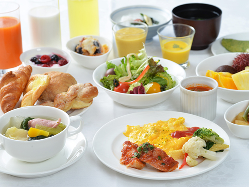 【Stay&Breakfast】素敵な一日の始まりに。約50種類のボリューム満点! 朝食ブッフェ付き♪画像