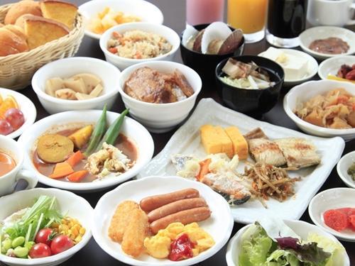 【和洋バイキング】朝食付プラン♪