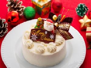 【朝食付き】12月限定♪クリスマスケーキ付プラン