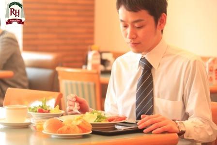 """【朝食付プラン】cafeレストラン""""ガスト""""での和洋食バイキング"""