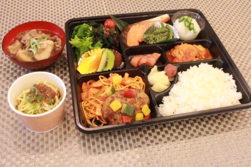 【朝食付】芋煮も選べる日替わり定食付プラン♪