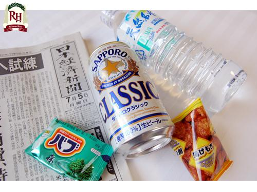 【for BIZ】出張応援!ビジネスプラン~ビールにおつまみ、入浴剤、朝刊と水も! ~和洋バイキング朝食付~