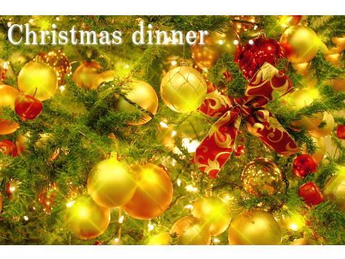 【クリスマス限定】☆シェフ特製のXmasディナー付プラン☆朝食付【17時30分開始】