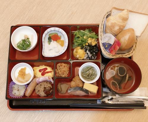 【朝食付き】3種類から選べる朝食付き♪
