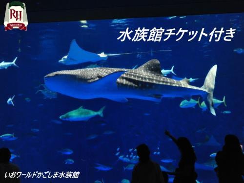 【水族館チケット付】カップル・ファミリープラン(GoTo対象外)