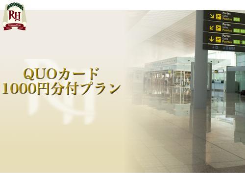 便利なQUOカード1000円付きプラン