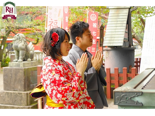 【年末年始】初詣☆晴れ着で開運プラン♪朝食付