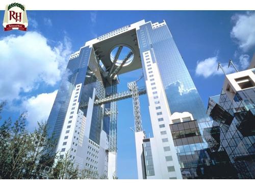 【空中庭園展望台チケット付き】 大阪の景色を360度の大パノラマで・・・♪-和洋バイキング朝食付き-