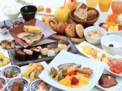【朝食付きプラン】~ホテルのこだわり朝食付き~
