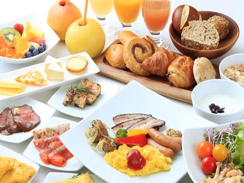 【室数限定】自慢の朝食が半額!2500円→1250円朝食ビュッフェ付きプラン!